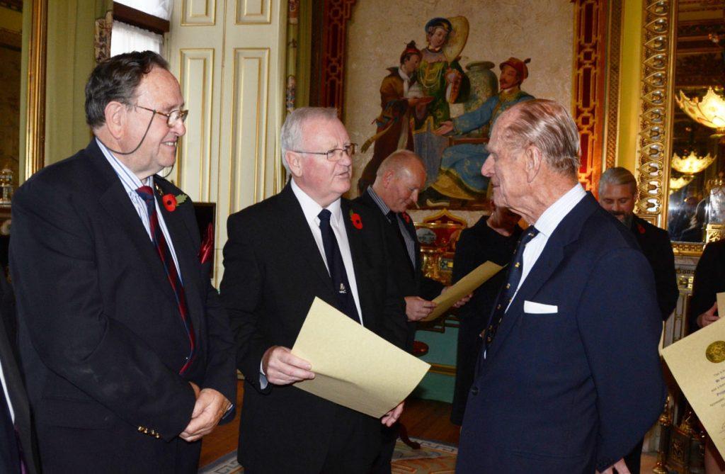 Steve & Neville at Palace